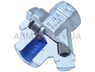 Конденсатоотводчики термодинамические резьбовые (HTD-37D)